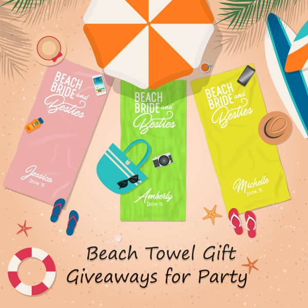 2_Beach Towel – Gift Giveaways for Party